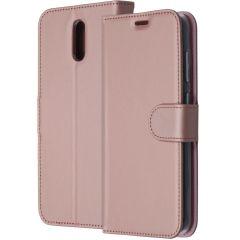 Accezz Étui de téléphone Wallet Nokia 2.3 - Rose Champagne