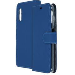 Accezz Étui de téléphone Wallet Samsung Galaxy Xcover Pro - Bleu