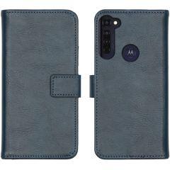 iMoshion Étui de téléphone Luxe Motorola Moto G Pro - Bleu foncé