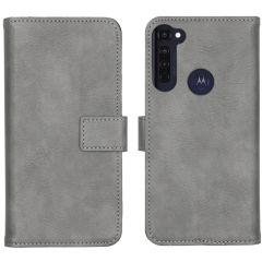iMoshion Étui de téléphone Luxe Motorola Moto G Pro - Gris
