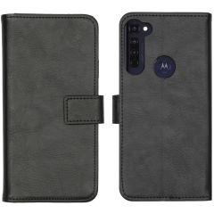 iMoshion Étui de téléphone Luxe Motorola Moto G Pro - Noir