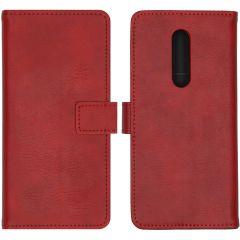 iMoshion Étui de téléphone portefeuille Luxe OnePlus 8 - Rouge