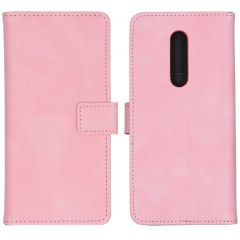 iMoshion Étui de téléphone portefeuille Luxe OnePlus 8 - Rose