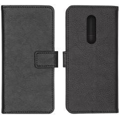 iMoshion Étui de téléphone portefeuille Luxe OnePlus 8 - Noir