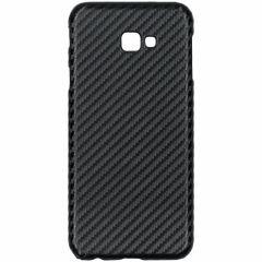 Coque rigide en carbone Samsung Galaxy J4 Plus