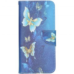 Coque silicone design Nokia 2.3 - Blue Butterfly