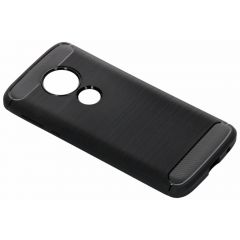 Coque brossée Motorola Moto E5 / G6 Play - Noir