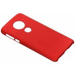 Coque unie Motorola Moto E5 / G6 Play - Rouge