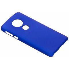 Coque unie Motorola Moto E5 / G6 Play - Bleu