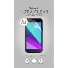 Selencia Protection d'écran Duo Pack Samsung Galaxy Xcover 4 / 4S