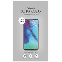 Selencia Protection d'écran Duo Pack Ultra Clear Motorola Moto G Pro