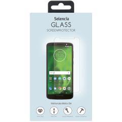 Selencia Protection d'écran en verre durci Motorola Moto G6