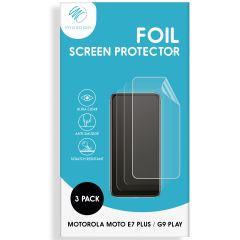 iMoshion Protection d'écran Film 3 pack Moto E7 Plus / G9 Play