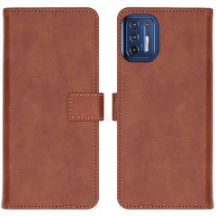iMoshion Étui de téléphone portefeuille Luxe Motorola Moto G9 Plus