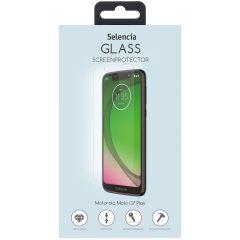 Selencia Protection d'écran en verre durci Motorola Moto G7 Play