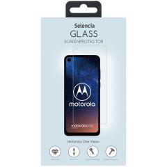 Selencia Protection d'écran en verre durci Motorola One Vision