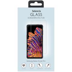 Selencia Protection d'écran en verre durci Samsung Galaxy Xcover Pro