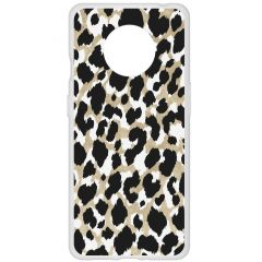Coque design OnePlus 7T - Panther Black/Gold