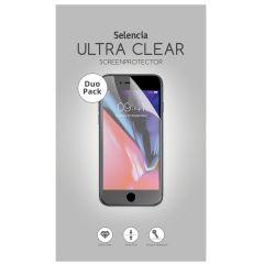 Selencia Protection d'écran Duo Pack Clear Galaxy J4 Plus / J6 Plus