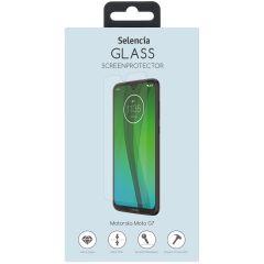 Selencia Protection d'écran en verre durci Motorola Moto G7 / G7 Plus