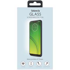 Selencia Protection d'écran en verre durci Motorola Moto G7 Power