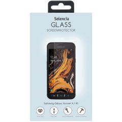 Selencia Protection d'écran en verre durci Samsung Galaxy Xcover 4/4S