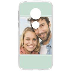 Concevez votre propre coque en gel Motorola Moto G7 Play