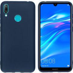 iMoshion Coque Color Huawei Y7 (2019) - Bleu foncé