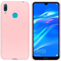 iMoshion Coque Color Huawei Y7 (2019) - Rose