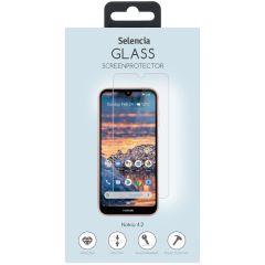 Selencia Protection d'écran en verre durci Nokia 4.2