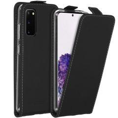 Accezz Étui à rabat Samsung Galaxy S20 - Noir