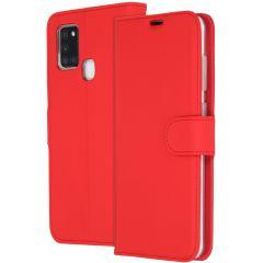 Accezz Étui de téléphone Wallet Samsung Galaxy A21s - Rouge