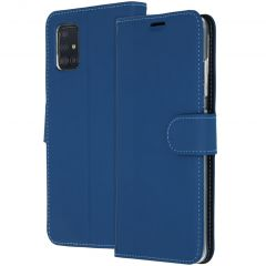 Accezz Étui de téléphone Wallet Samsung Galaxy A51 - Bleu
