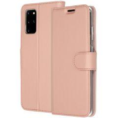 Accezz Étui de téléphone Wallet Samsung Galaxy S20 Plus - Rose