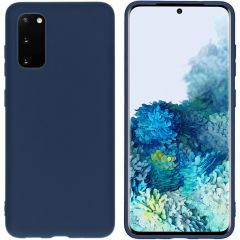 iMoshion Coque Color Samsung Galaxy S20 - Bleu foncé