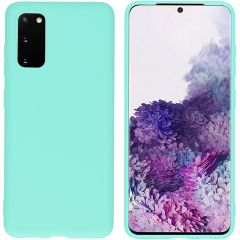 iMoshion Coque Color Samsung Galaxy S20 - Turquoise