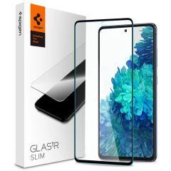 Spigen Protection d'écran GLAStR Samsung Galaxy S20 FE - Noir