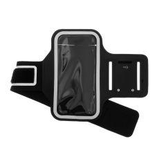 Bracelet de sport Taille Samsung Galaxy A70 - Noir