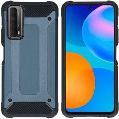 iMoshion Coque Rugged Xtreme Huawei P Smart (2021)  - Bleu foncé