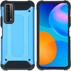 iMoshion Coque Rugged Xtreme Huawei P Smart (2021)  - Bleu clair
