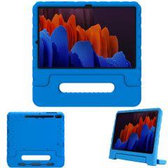 iMoshion Coque kidsproof avec poignée Galaxy Tab S7 Plus / Tab S7 FE 5G - Bleu