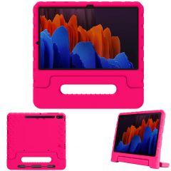 iMoshion Coque kidsproof avec poignée Galaxy Tab S7 Plus / Tab S7 FE 5G - Rose