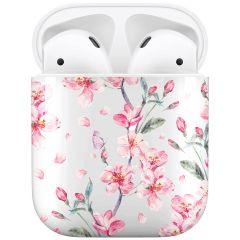 iMoshion Coque Hardcover Design AirPods - Blossom Watercolor
