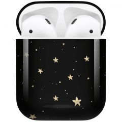 iMoshion Coque Hardcover Design AirPods - Stars Gold