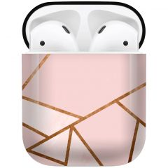 iMoshion Coque Hardcover Design AirPods - Pink Graphic