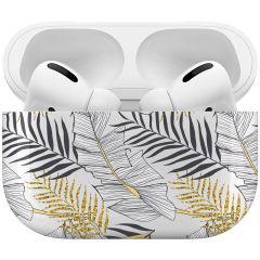 iMoshion Coque Hardcover Design AirPods Pro - Glamour Botanic