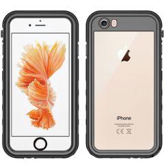 Redpepper Coque imperméable Dot Plus iPhone SE (2020) / 8 / 7 - Noir