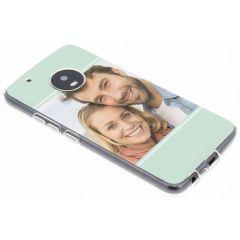 Concevez votre propre coque en gel Motorola Moto G5 Plus