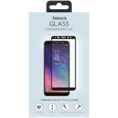 Selencia Protection d'écran en verre durci Galaxy A6 Plus (2018)