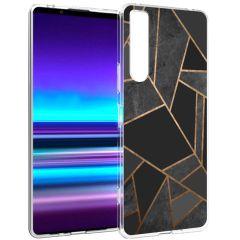 iMoshion Coque Design Sony Xperia 1 II - Black Graphic